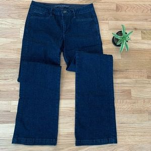 Banana Republic Dark Blue Trouser Jeans